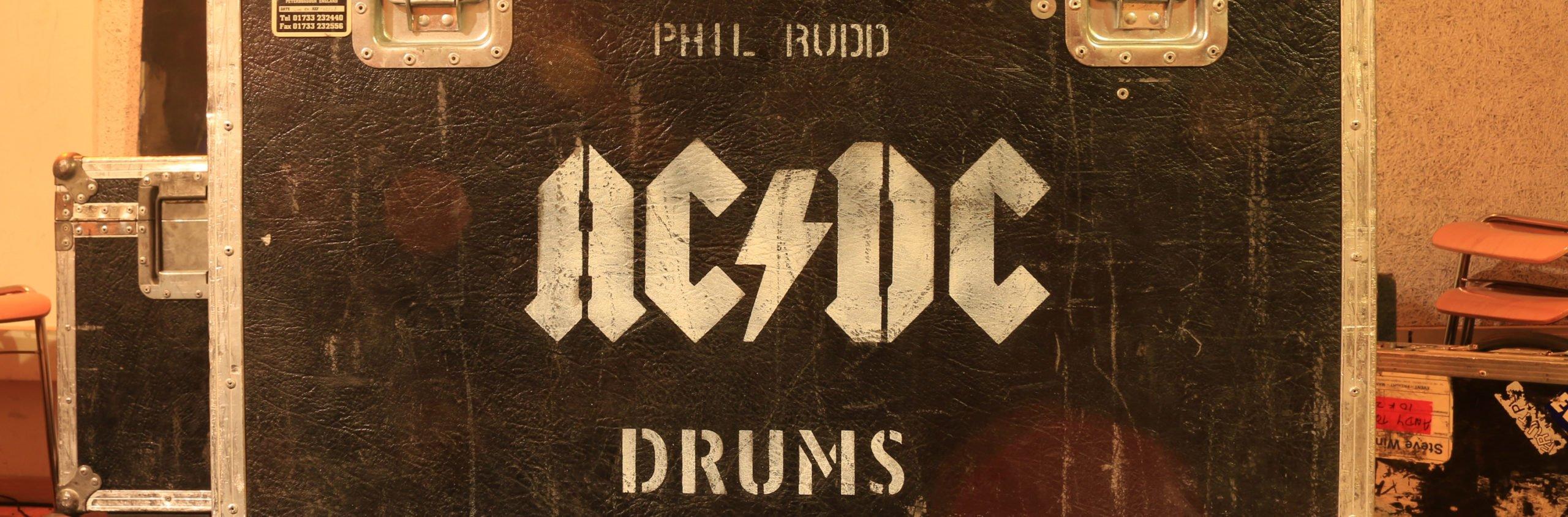 Phil Rudds Drumset im t-on
