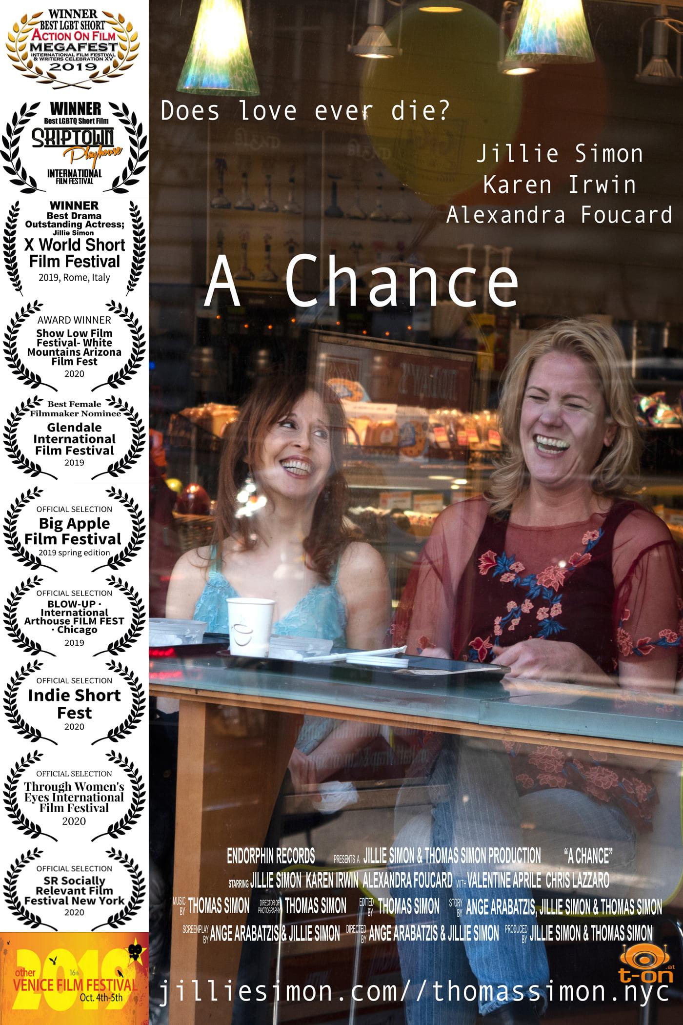 A Chance Filmposter mit Auszeichnungen